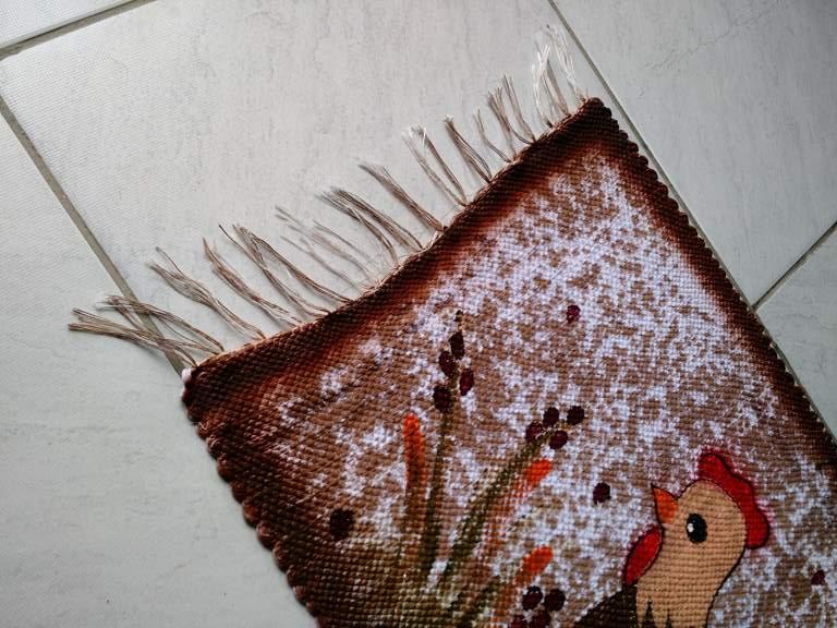 Tapete animal galinha pequena 3